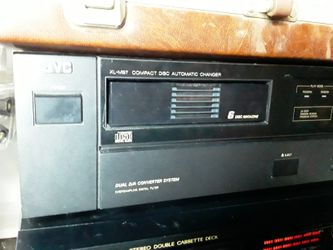 Stereo System CD/Dual Tape Deck Thumbnail