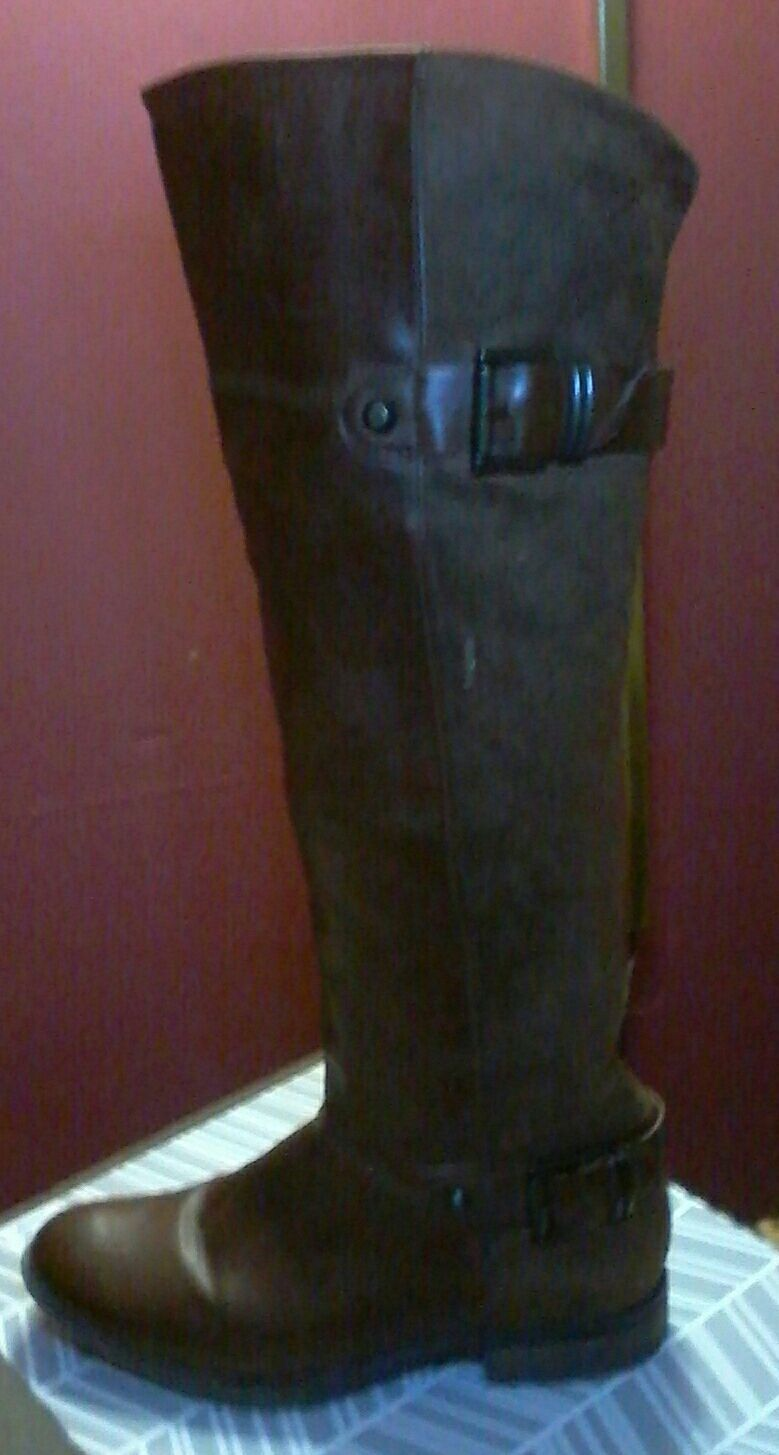 Aldo brand brown boots; Size 8