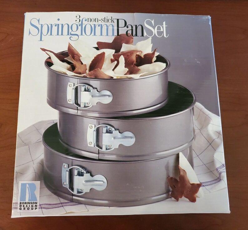 Springform cake pan set