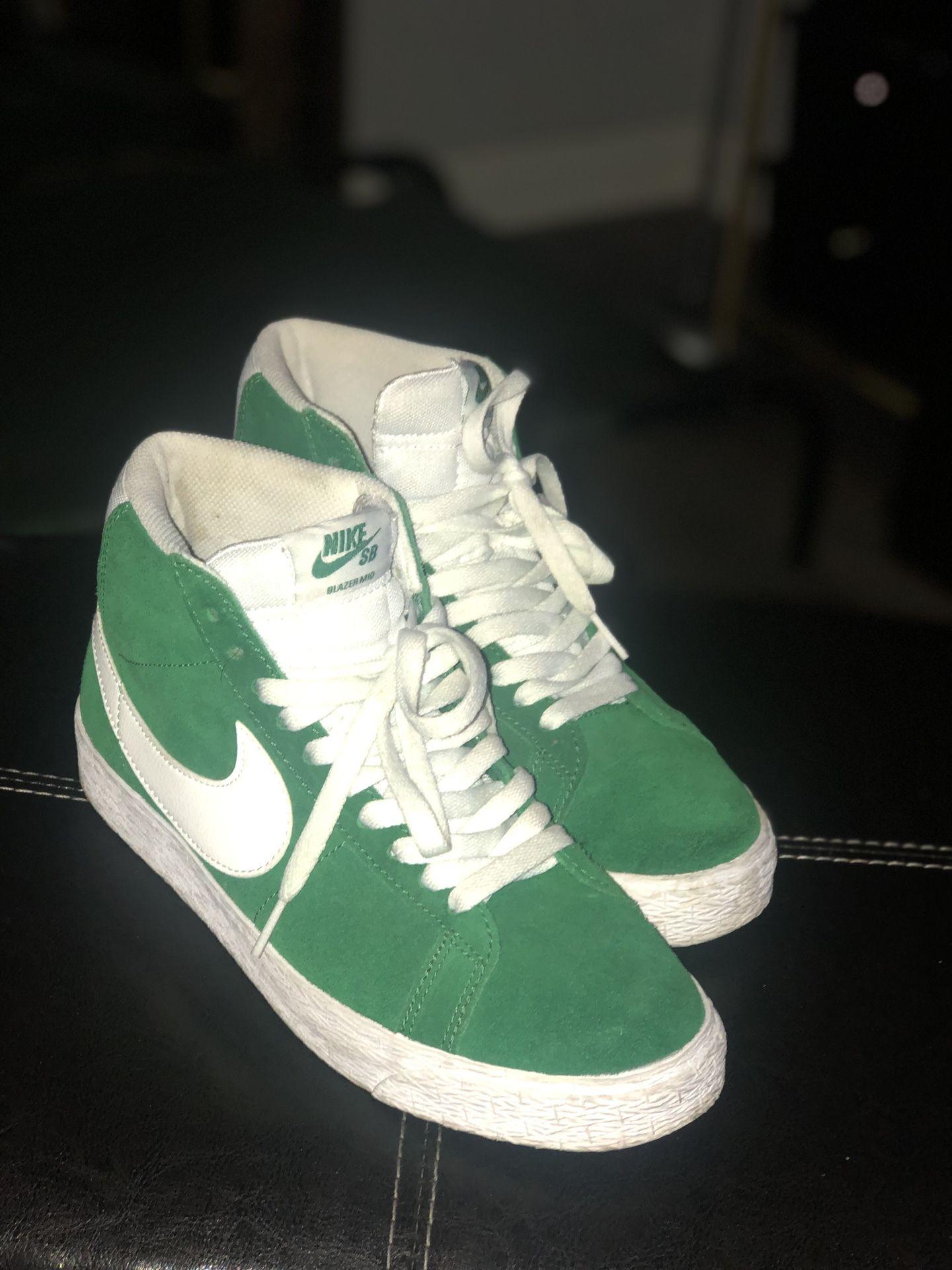 Nike Blazers SB Pine Green
