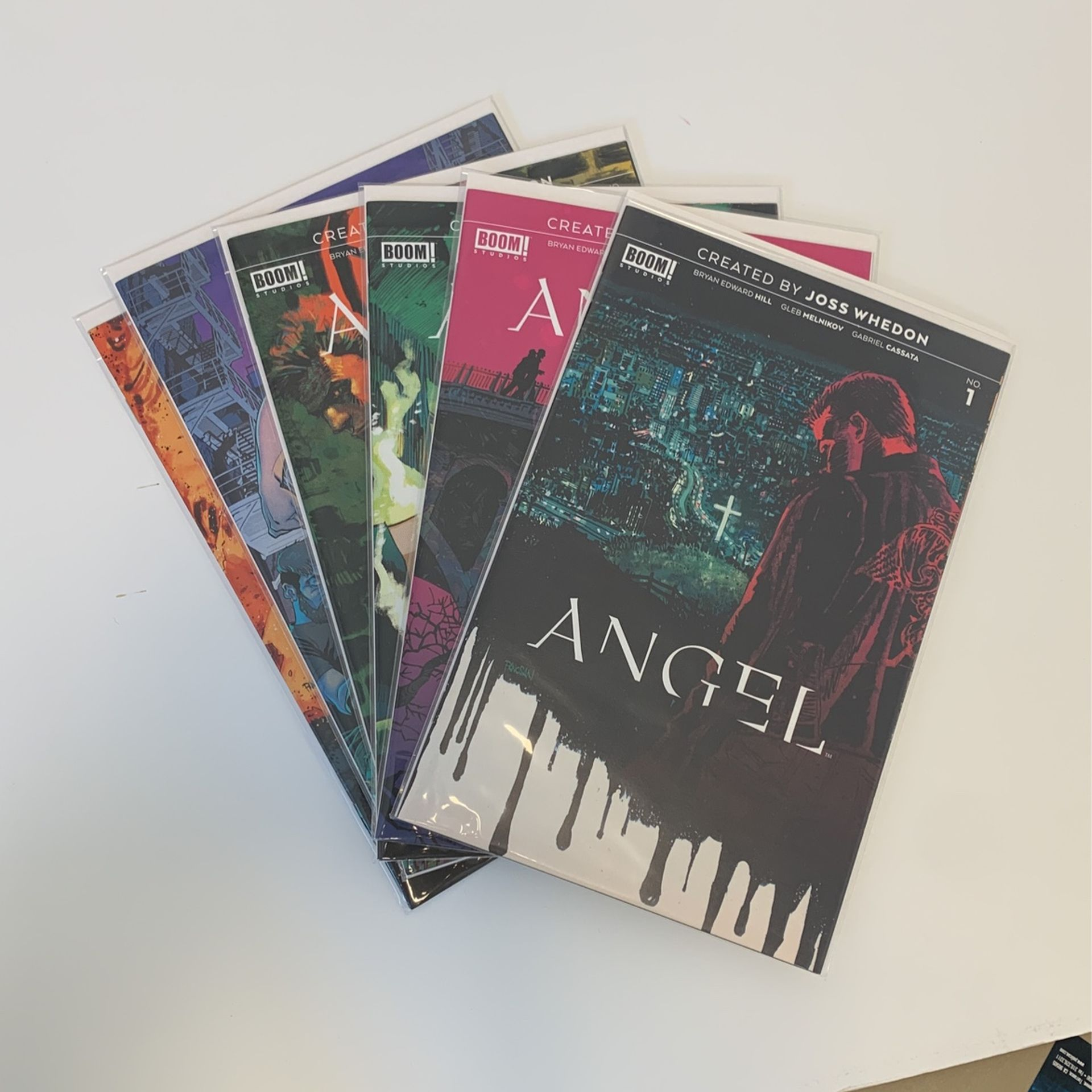 Angel #1-6 NM BOOM comics Joss Whedon