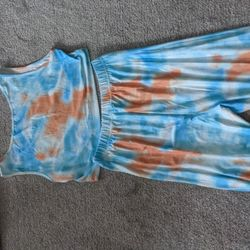 Tie Dye Matching Outfit In Size XL Thumbnail