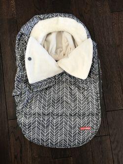 Skip Hop winter infant car seat cover Thumbnail