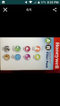 Honeywell air purifier filter pack. HEPA filters Thumbnail