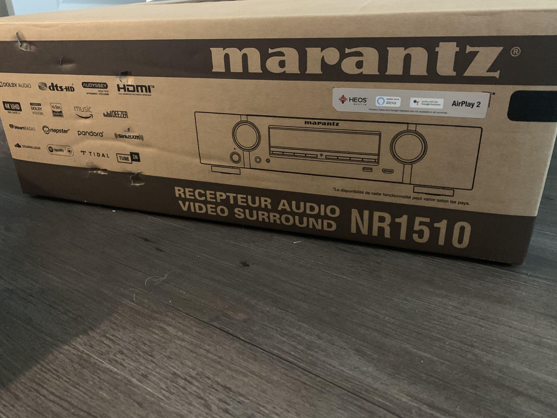 *NEW* Marantz Receiver W/ Martin Logan 4i (Pair)