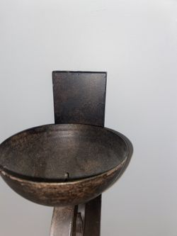 Set of Beautiful designed Wall mounts/ candle holder steel Thumbnail