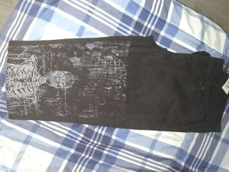 Hot topic skeleton skinny jeans Thumbnail