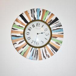 Coloful Frame Wall Clock Thumbnail