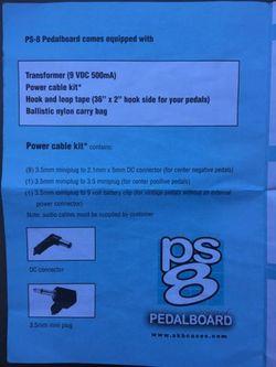 SKB PS8 Guitar Effect Powered Pedalboard Thumbnail