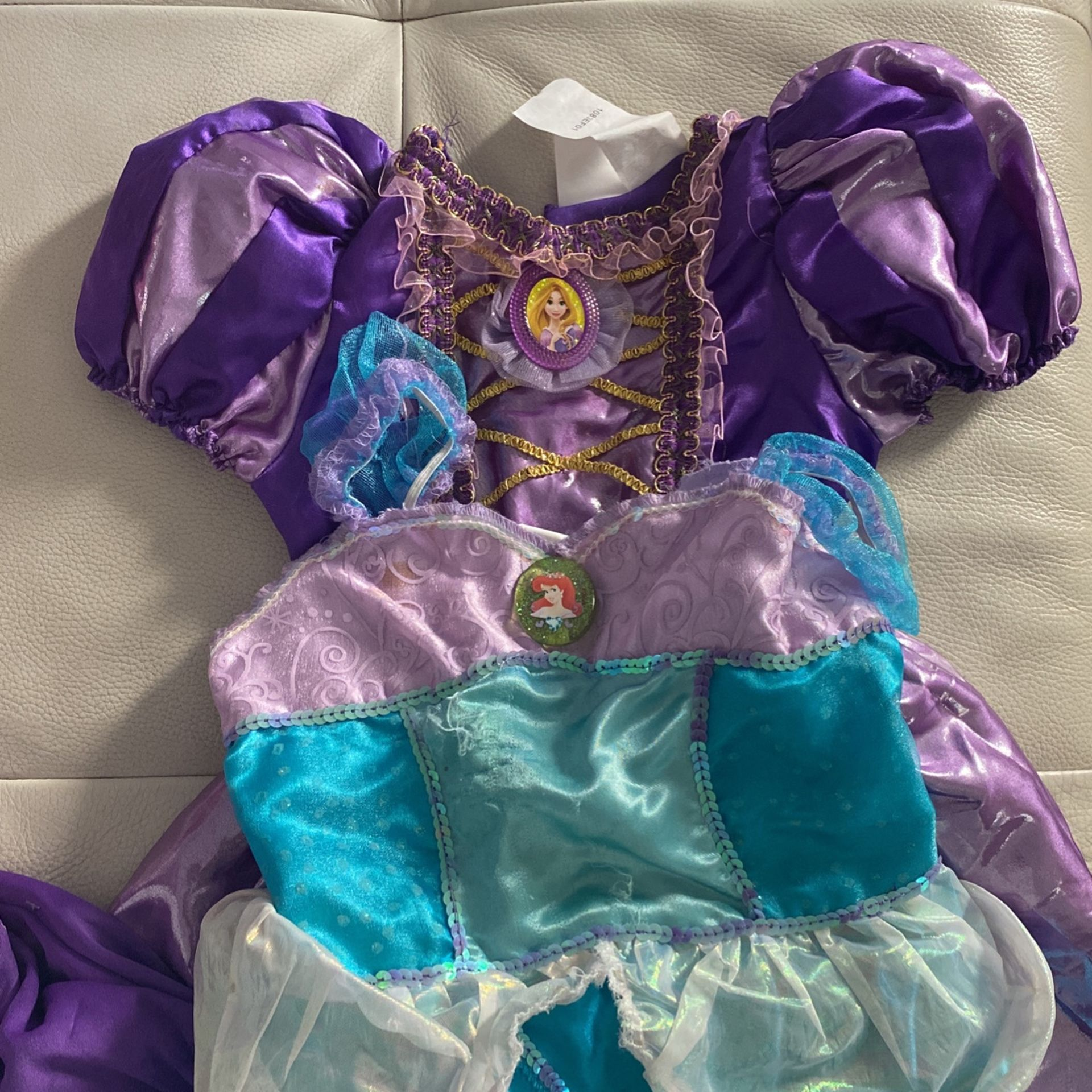 Rapunzel And Arielle Costume