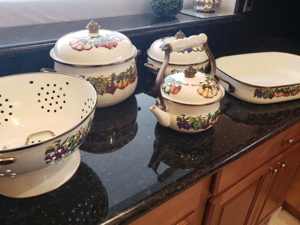 Vitroceramic cookware set