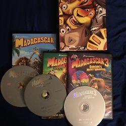 Shrek And Madagascar Complete DVD Sets (Dreamworks) Thumbnail
