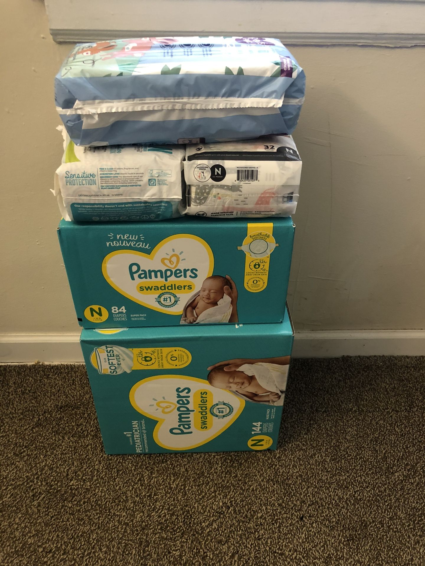 Diapers - Newborn Size