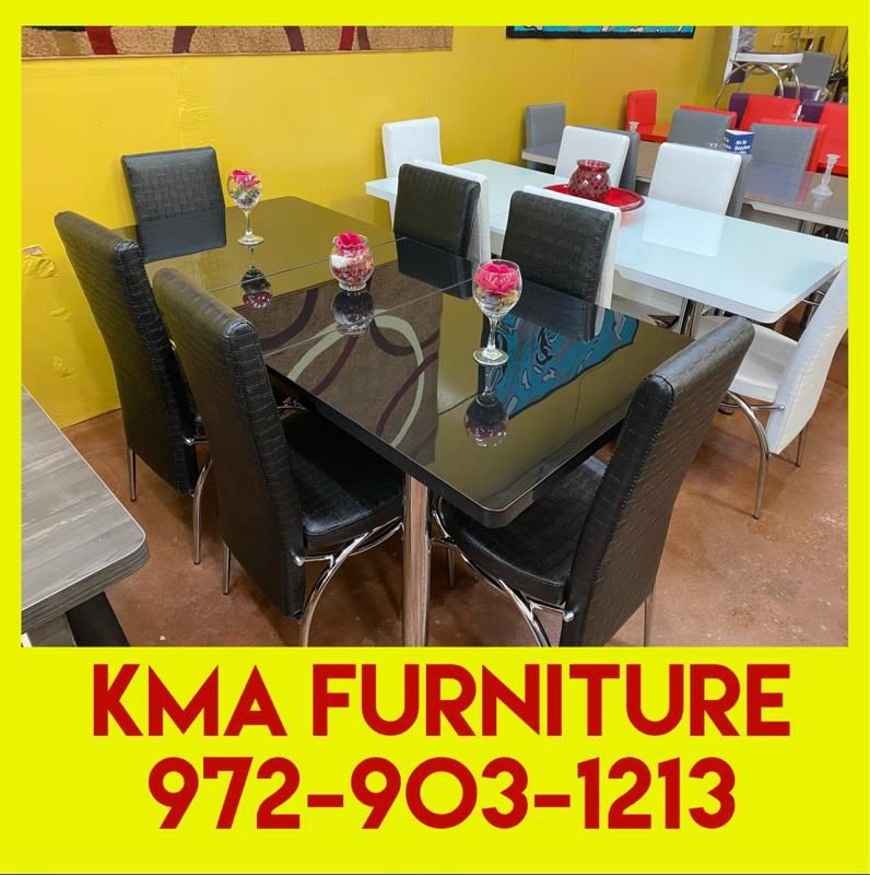 Dining table with chairs brand new 📦🌟(( delivery available))📦🚛 🚚