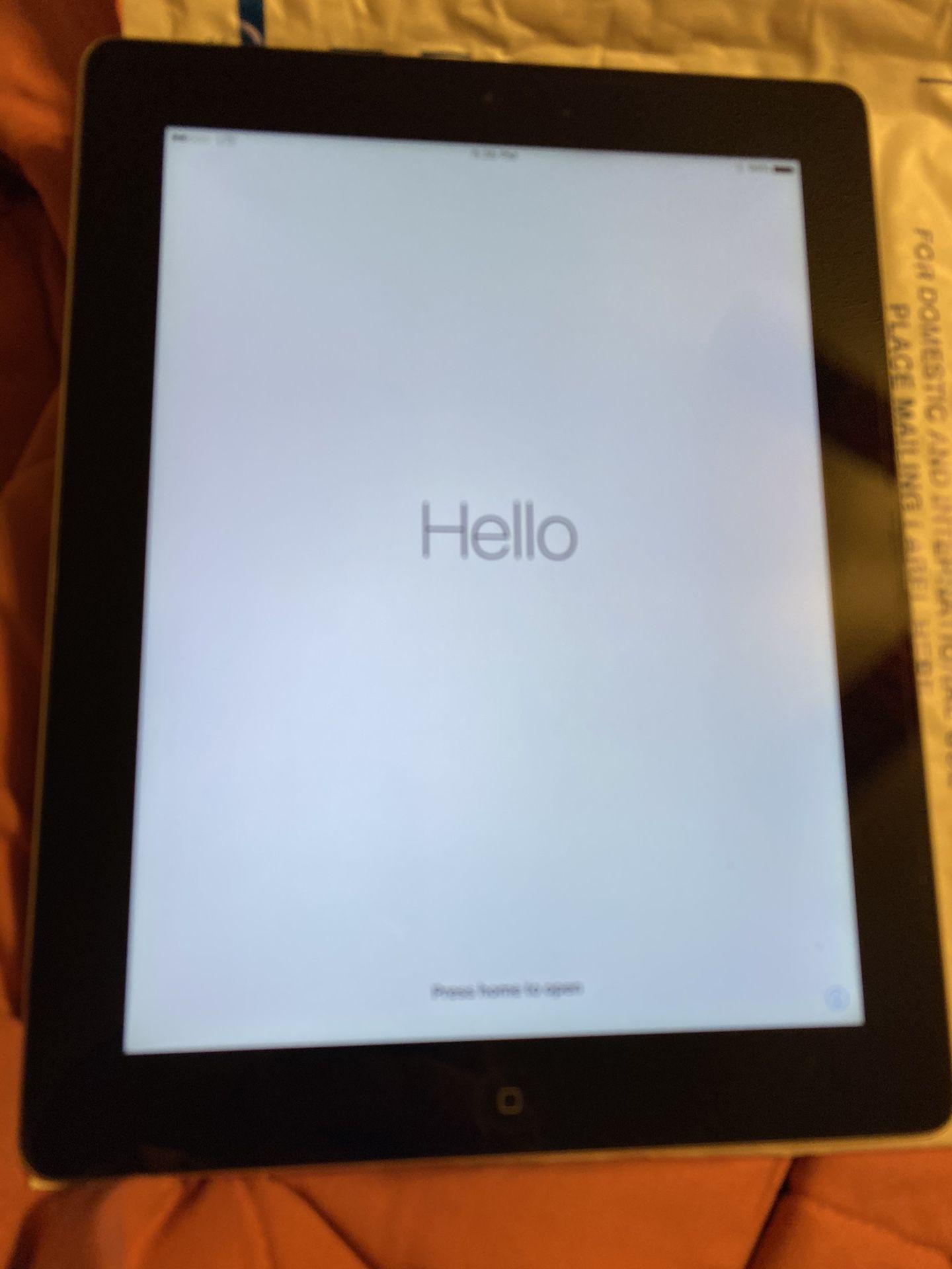 iPad 64 gb (cellular)
