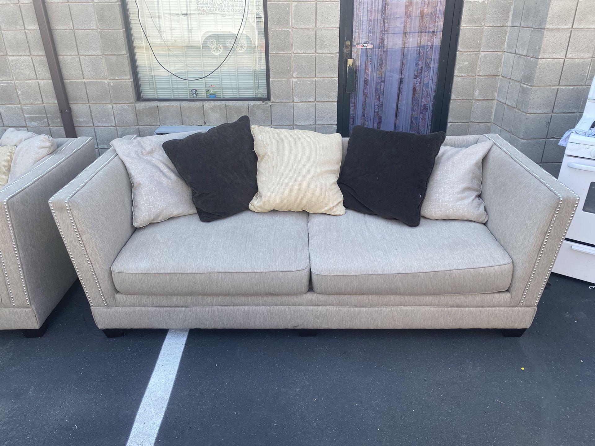 Ashley Furniture Sofa & Love Seat Set