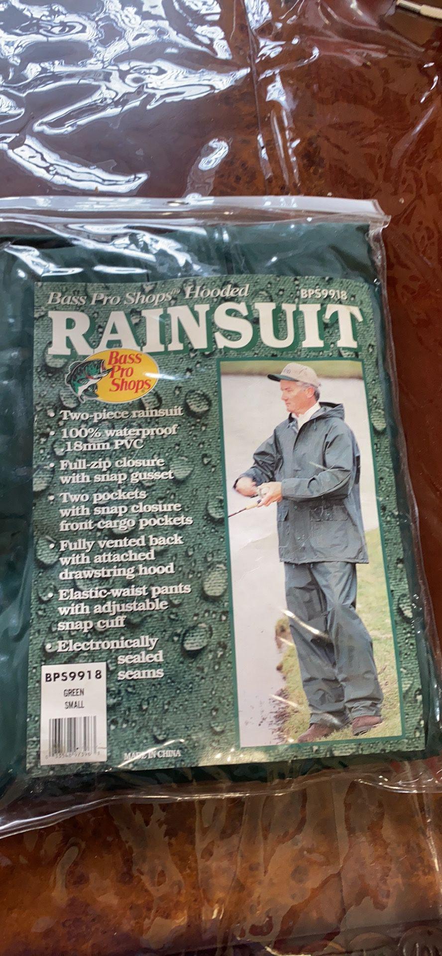 New Rain Suit