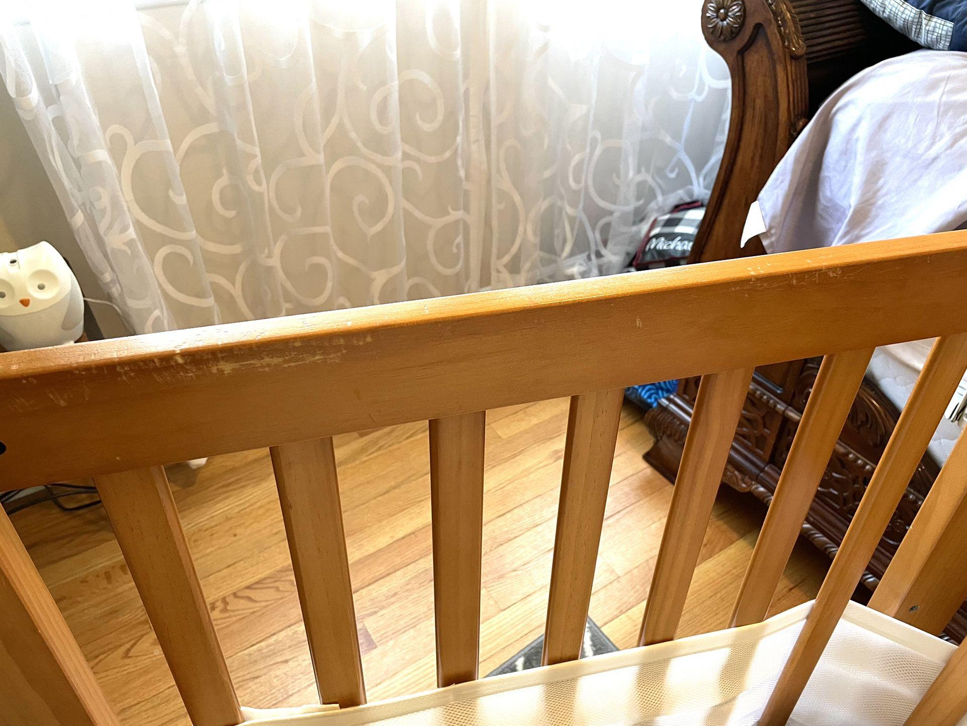 Baby Crib - Toddler Bed