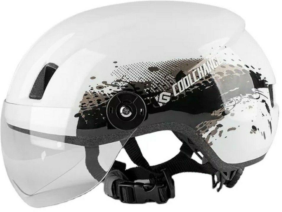 Bike helmet.