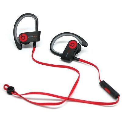 Beats by Dr dre Powerbeats2 Wireless In-Ear Bluetooth Headphone - Black and Red