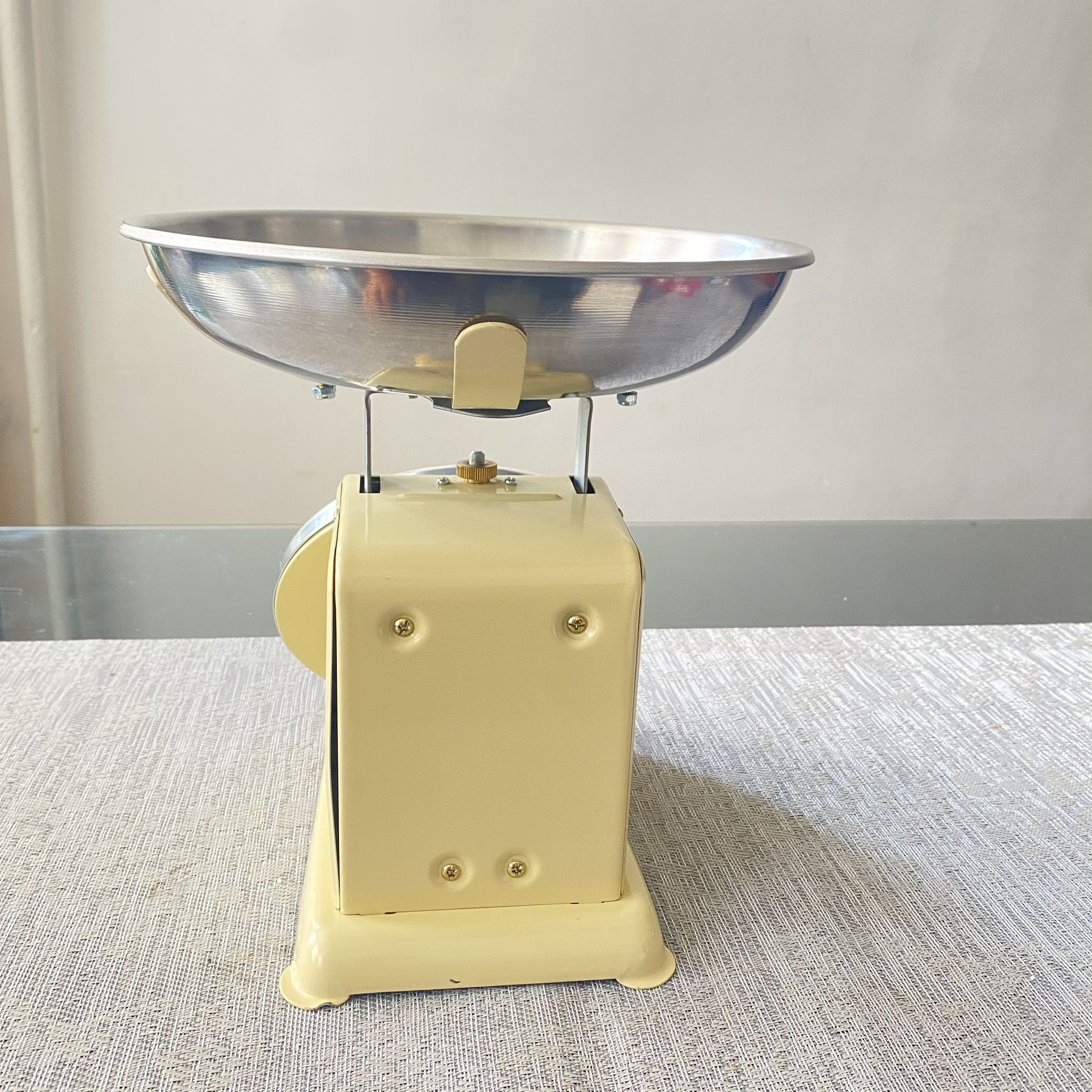 """Update UP-710T 7"""" Fixed Dial Scale - 10 lb Capacity, 1 oz Graduations"""