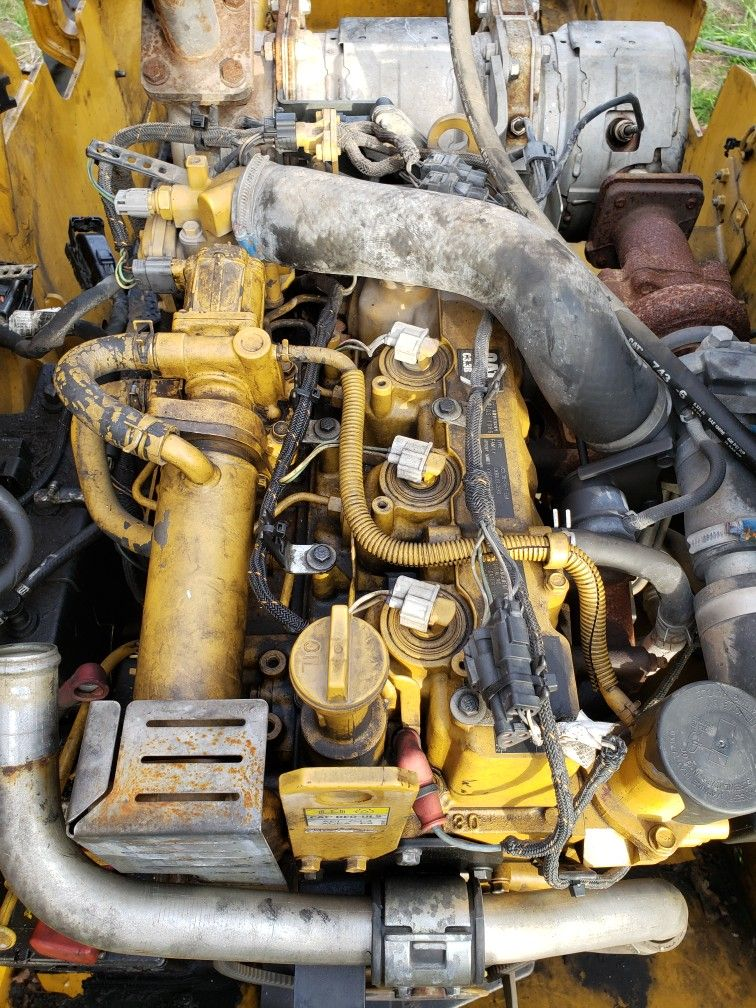 Caterpillar C3.3B Engine CAT KUBOTA  Skid steer Wheel Loader Track COMPLETE GOOD 242d 262d 259d 249d 246d 257d