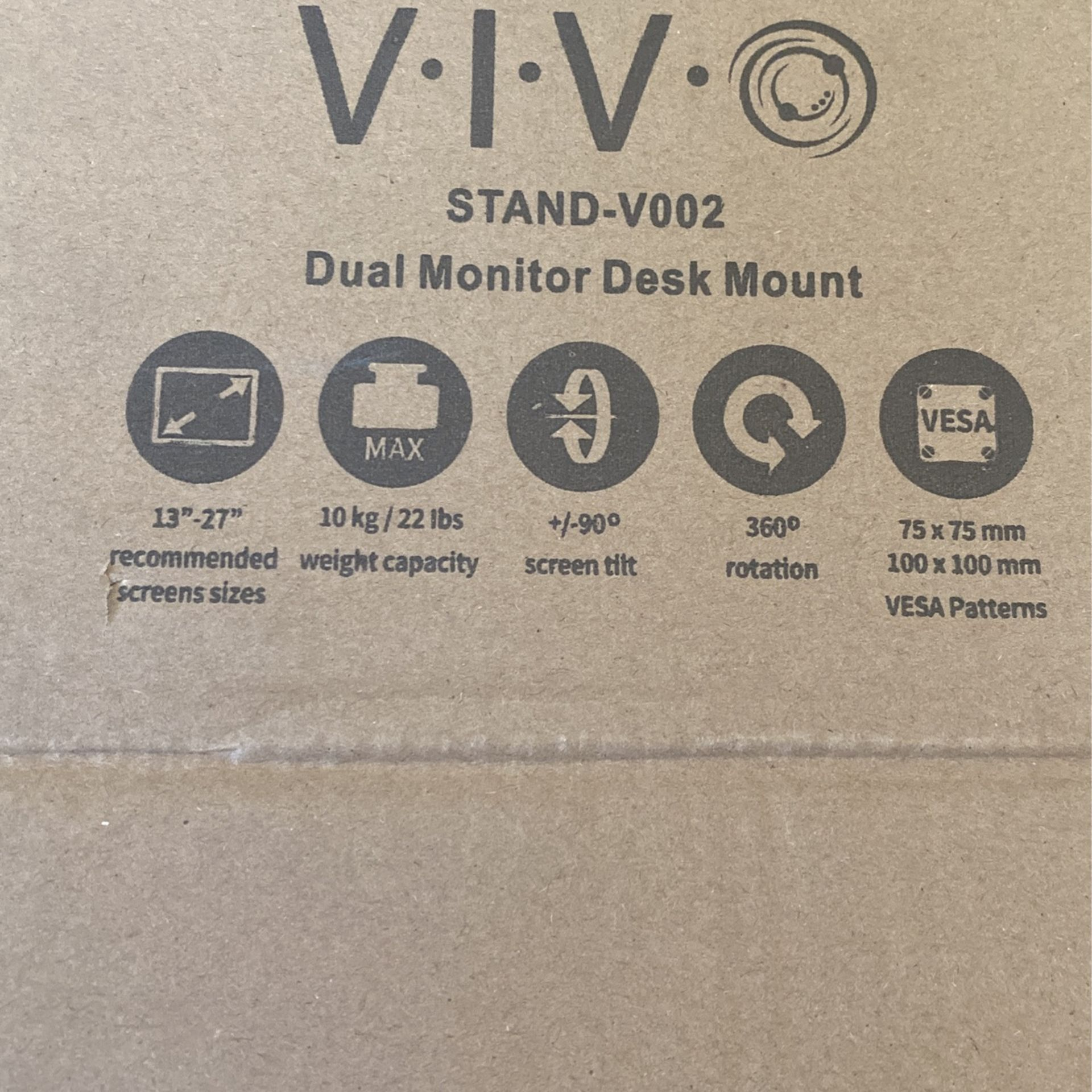 VIV Dual Monitor Mount!