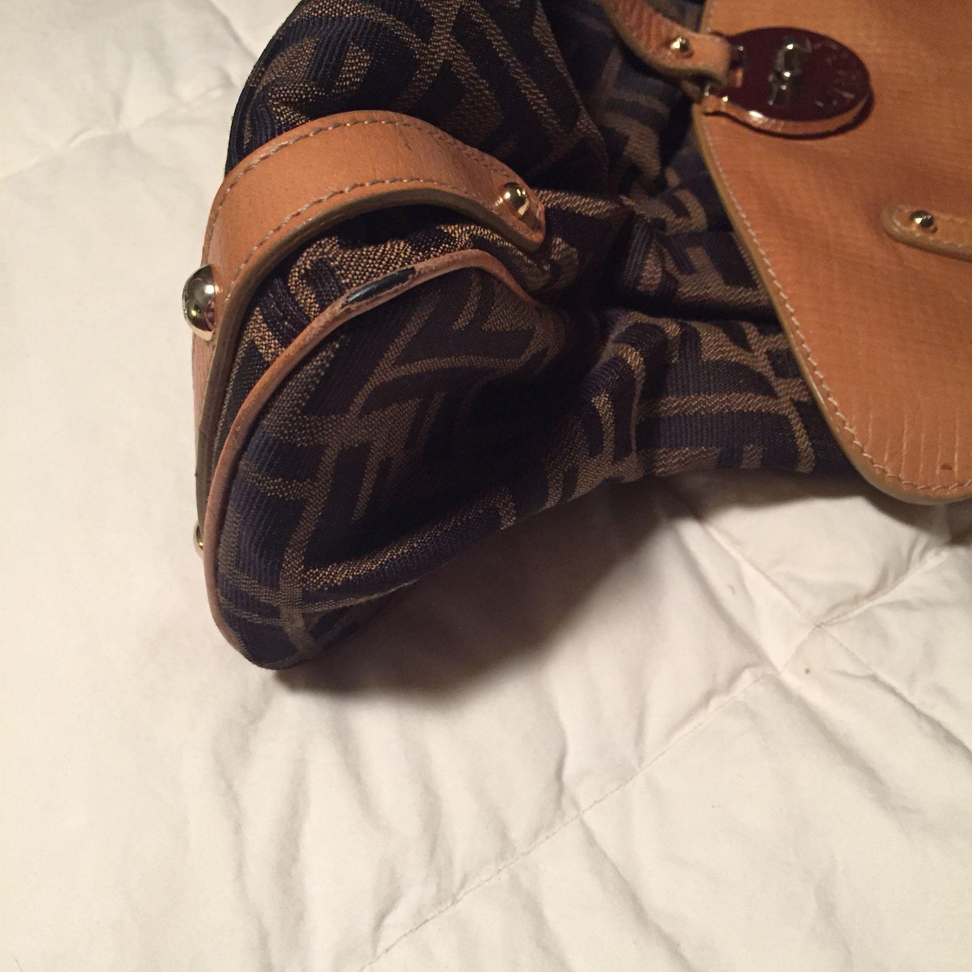 Fendi zucca magic bag