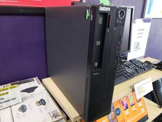 "Lenovo Thinkcentre M Series Desktop ""22 Monitor With Radeon 7480D Graphics Thumbnail"