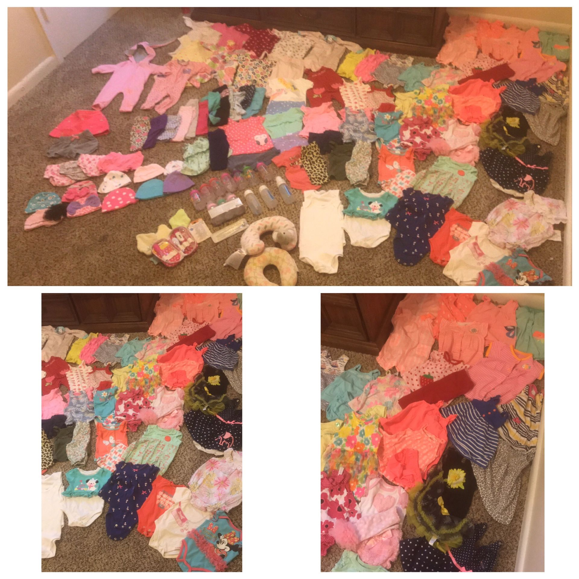 Girl baby clothes 0-3 months