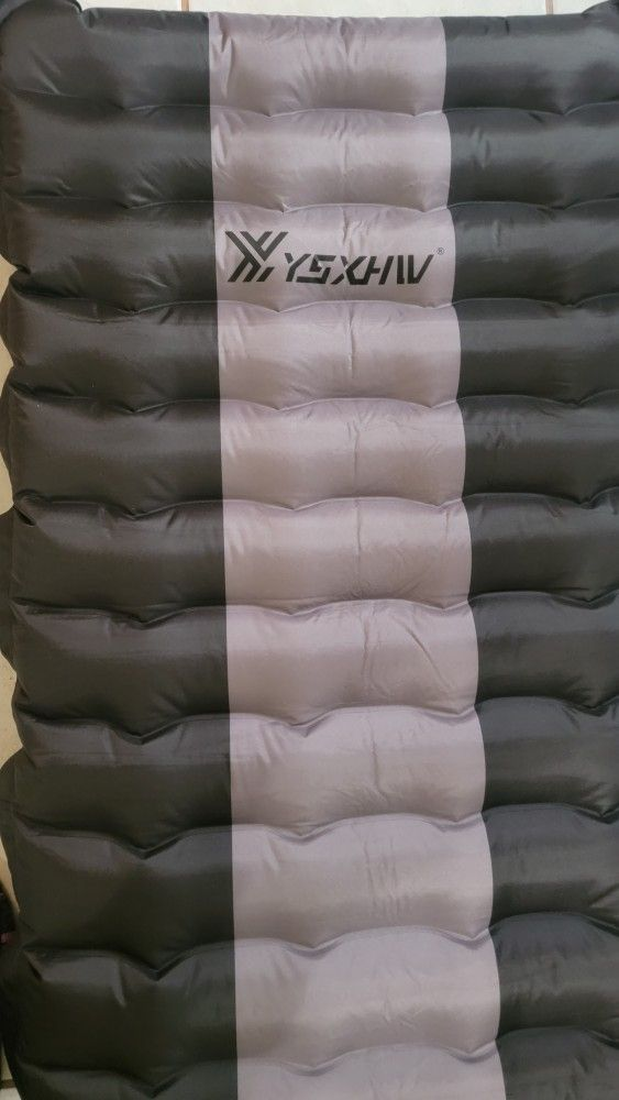YSXHW Camping Sleeping Pad Waterproof Inflatable Sleeping Mat Inflating Lightweight Air Mattress with for Tent