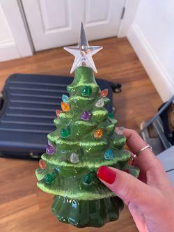 Mini light up Christmas tree Thumbnail