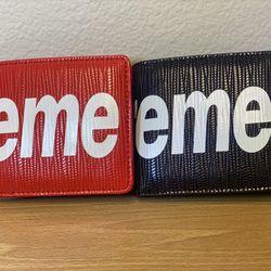 Brand New Supreme Wallet  Thumbnail