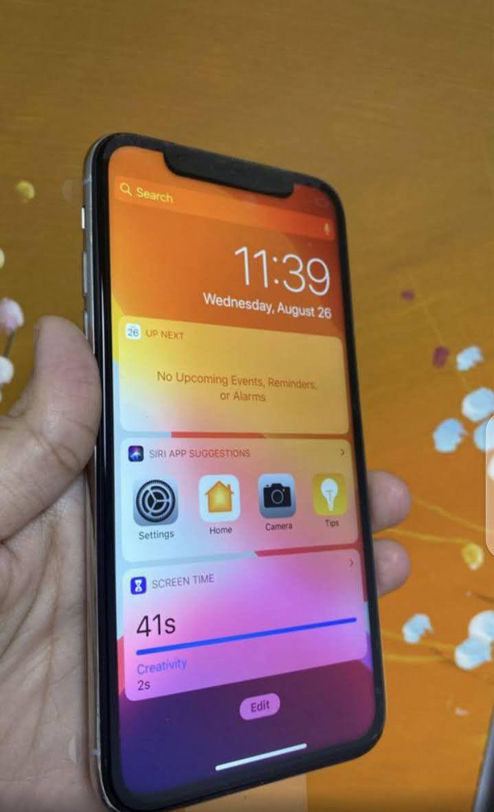 Iphone x max factory unlocked