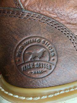 Red Wing Irish Setter Steel Toe Work Boots Thumbnail