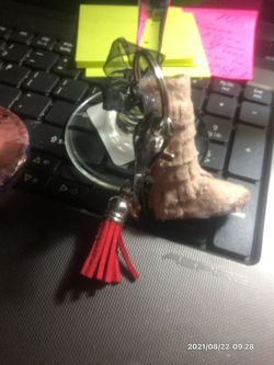 Handmade Moccasin Boot Keychains . $7 Thumbnail