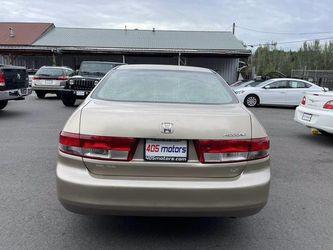 2003 Honda Accord Sdn Thumbnail