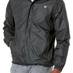 New Men's Starter Windbreaker Jacket Thumbnail