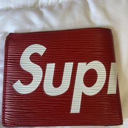 Supreme Louis Vuitton Wallet Thumbnail