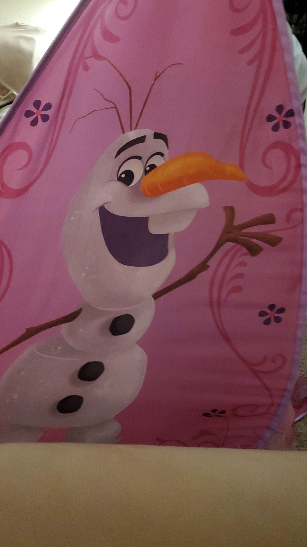 Olaf elsa anba tent