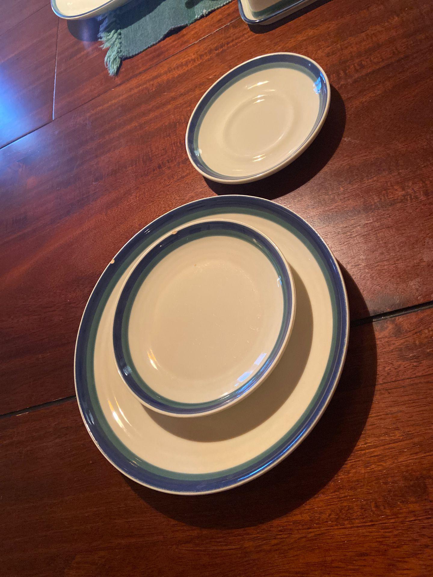 Pfaltzgraff Northwinds Pattern Spare Plates/saucer