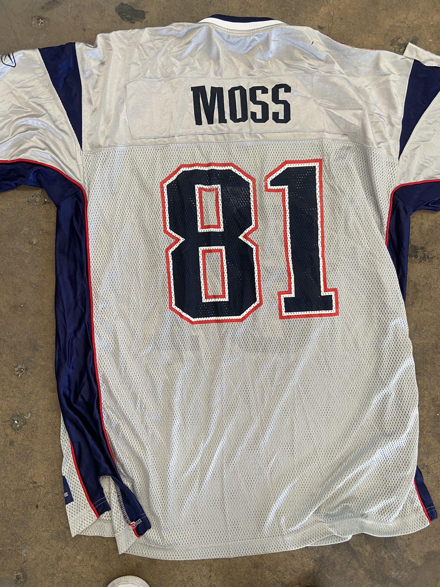 NFL Randy Moss New England Patriots Jersey