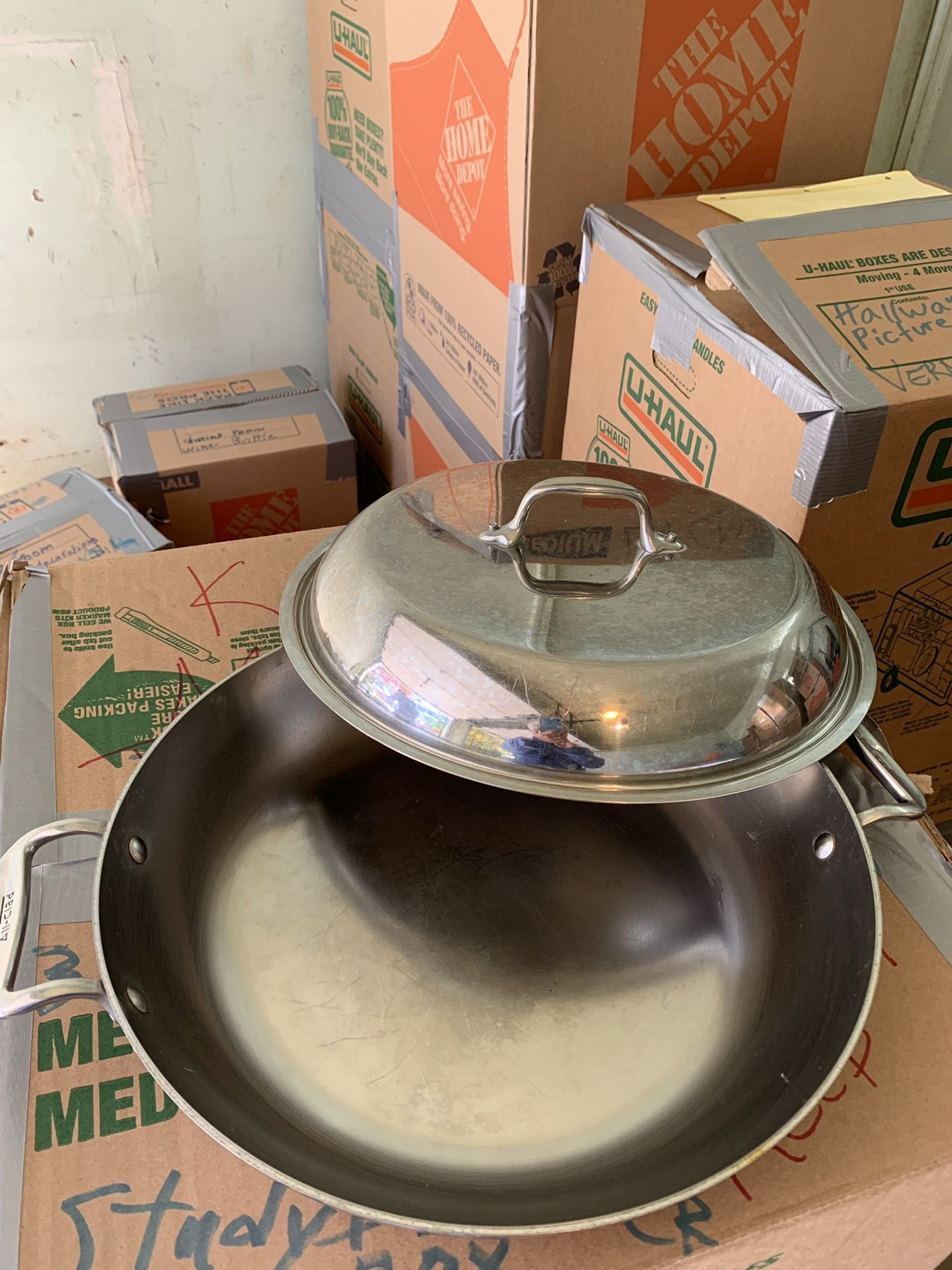 All-Clad Frying Pan with Cover