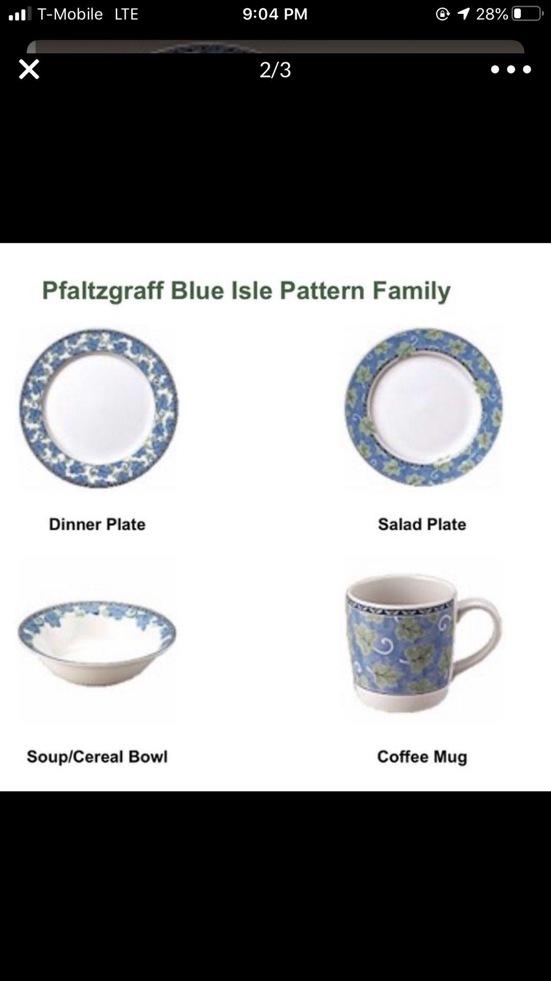Pfaltzgraff complete set 12 plates/12 cups/12 bowls/several serving plates