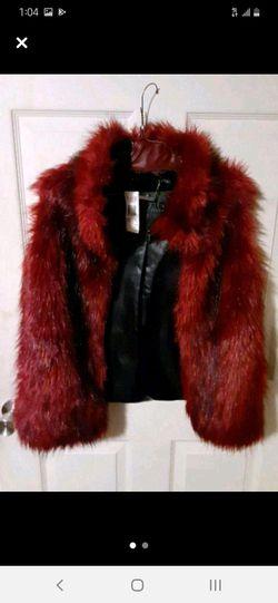 David Bitton Buffalo Magenta Fur Vest Thumbnail