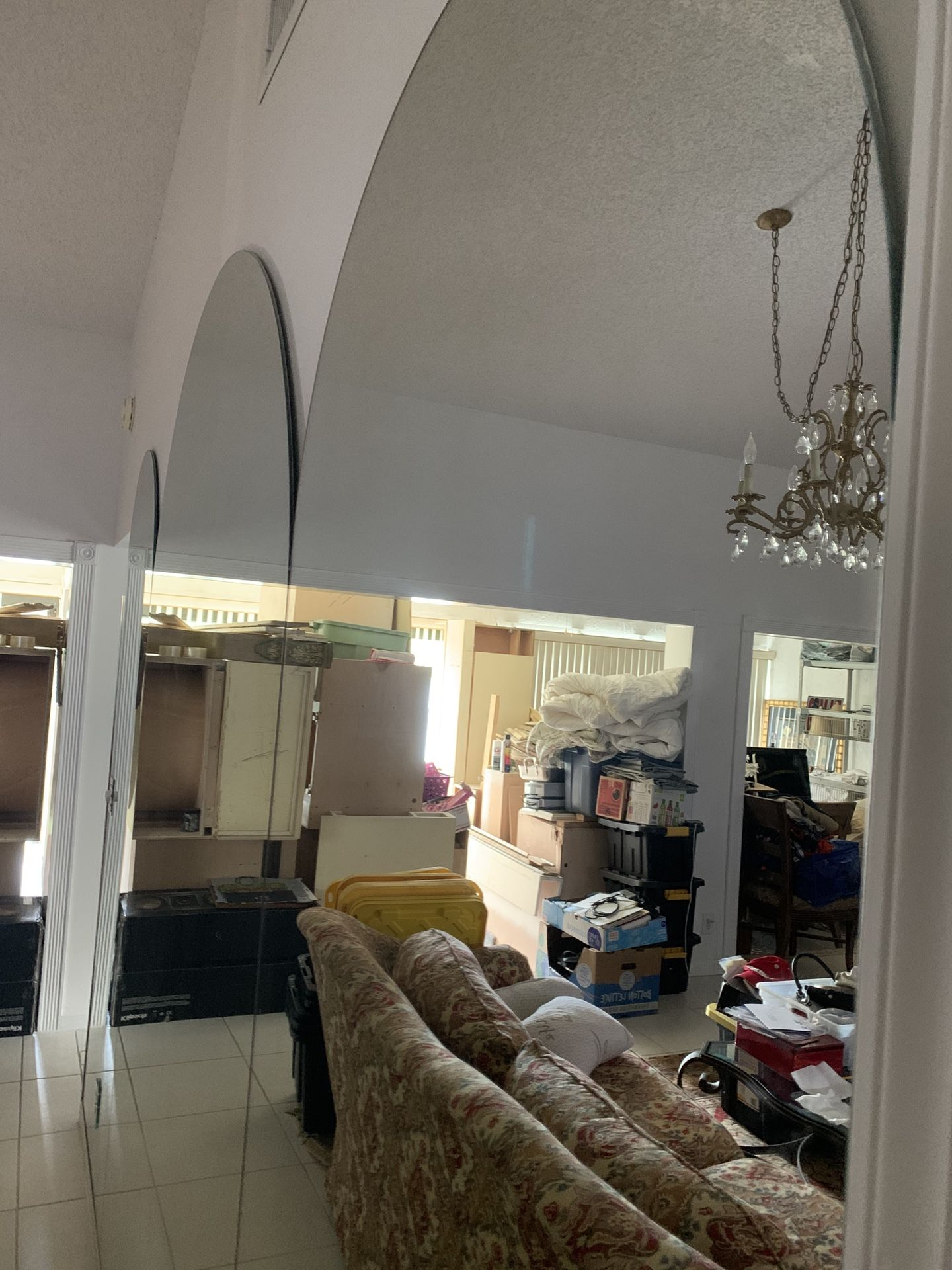 3 Set of Mirrors Oval shaped Already removed from the wall asking $380. All Obo today