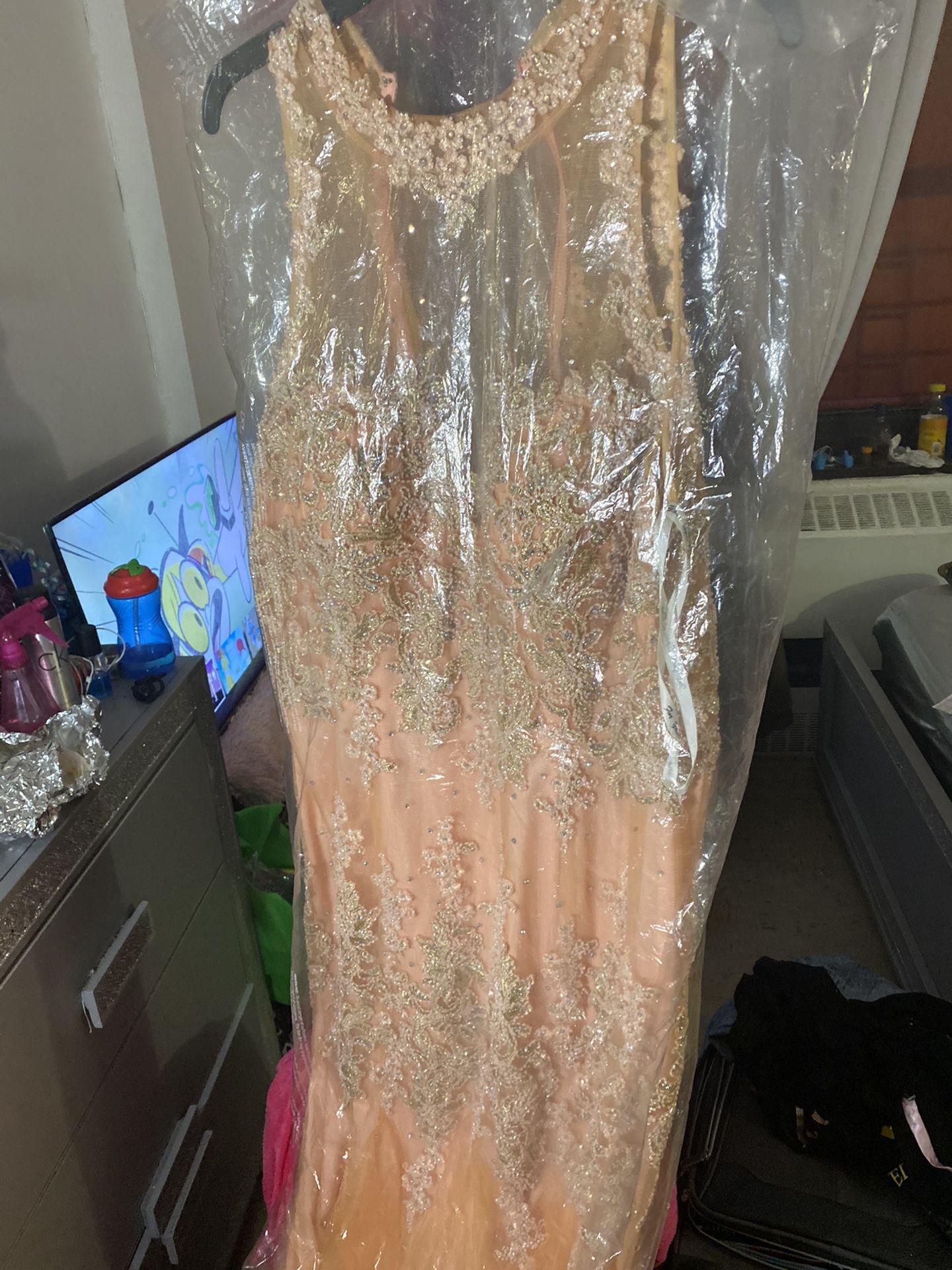 Formal Mermaid Prom Dress