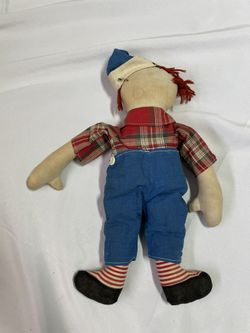 Raggedy Andy Volland 1920s Doll Thumbnail