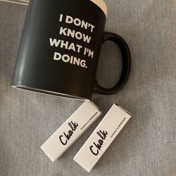 Chalk Coffee Cup  Thumbnail