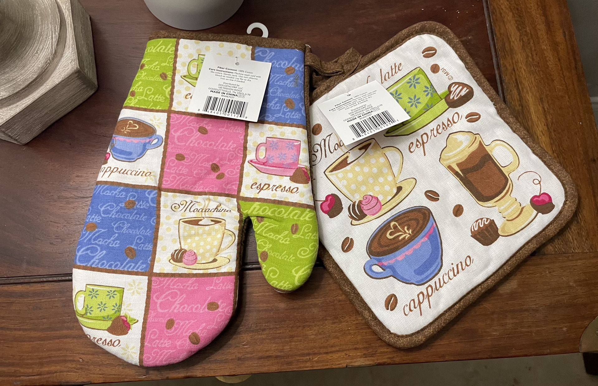 Coffee Theme Kitchen Towels & Pot Holders